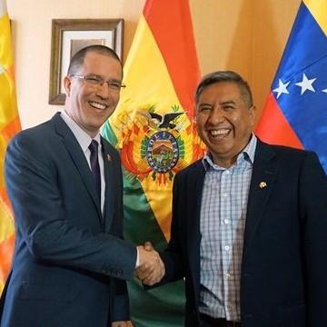 Diario Frontera, Frontera Digital,  JORGEARREAZA, Internacionales, ,Canciller Arreaza se reúne con su par de Bolivia  para afianzar relaciones diplomáticas de paz