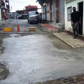Diario Frontera, Frontera Digital,  GUAYABONES, Panamericana, ,Después de siete años de desidia  gobernación habilitó calle Comercio en Guayabones