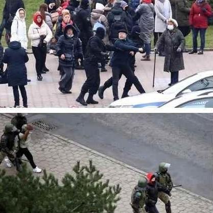 Diario Frontera, Frontera Digital,  BIELORRUSIA, Internacionales, ,Más de 550 detenidos durante nueva protesta en Bielorrusia