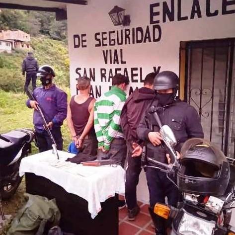 Diario Frontera, Frontera Digital,  DETENIDOS EN JACINTO PLAZA, Sucesos, ,APREHENDEN A TRES CIUDADANOS POR ROBO  CON ARMA DE FUEGO EN LIBERTADOR