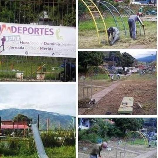 Diario Frontera, Frontera Digital,  Alcaldía de Mérida, Instituto Municipal del Deporte de Mérida, Deportes, ,Alcaldía de Mérida a través de Imdeportes  Libertador recupera parque de Los Curos