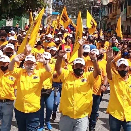 Diario Frontera, Frontera Digital,  LUIS PARRA, Politica, ,Primero Venezuela con Luis Parra caminaron  en la parroquia Domingo Peña