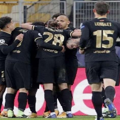 Diario Frontera, Frontera Digital,  BARCELONA, Deportes, ,Barcelona goleó al Dinamo y avanzó a los octavos de final