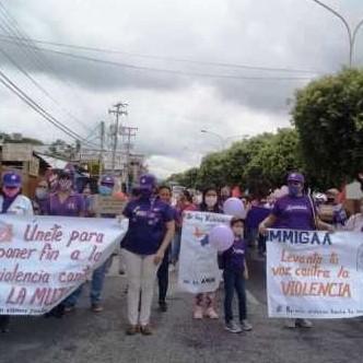 Diario Frontera, Frontera Digital,  IMMIGAA EL VIGÍA, Panamericana, ,IMMIGAA EL VIGÍA REALIZÓ MARCHA POR EL DÍA INTERNACIONAL  DE LA NO VIOLENCIA CONTRA LA MUJER
