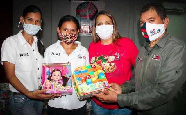 Diario Frontera, Frontera Digital,  ALCALDÍA DE ALBERTO ADRIANI, Panamericana, ,TRABAJADORES DE LA ALCALDÍA VIGÍENSE RECIBIERON  LOS JUGUETES DE MANO DEL ALCALDE ADRIANISTA
