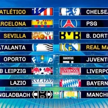 Diario Frontera, Frontera Digital,  8vos de final de la UEFA Champions League, Deportes, ,Se definieron los 8vos de final de la UEFA Champions League