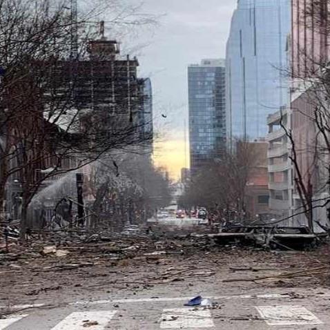 Diario Frontera, Frontera Digital,  Nashville, Internacionales, ,Explosión de Nashville vino de un vehículo que avisaba de una bomba