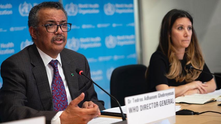 Diario Frontera, Frontera Digital,  OMS, Salud, ,OMS ve «muy alto» el riesgo  de expansión global del coronavirus
