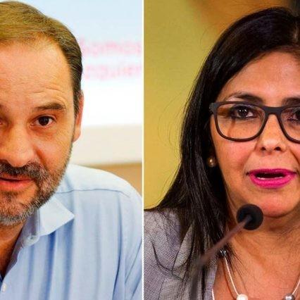 Diario Frontera, Frontera Digital,  DELCY RODRÍGUEZ, Internacionales, ,EE.UU: España violó sanciones europeas con la visita de Delcy Rodríguez