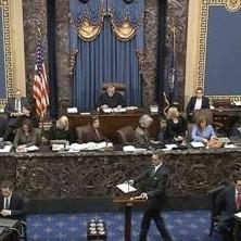 Diario Frontera, Frontera Digital,  ee uu, Internacionales, ,Trump se asegura la absolución  en la primera votación crucial del ‹impeachment›