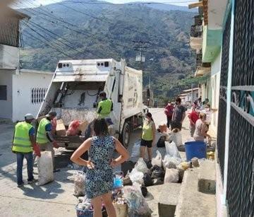 Diario Frontera, Frontera Digital,  ALCALDÍA DE MÉRIDA, Mocoties, ,Compactadores recuperados por Alcaldía de Mérida  se hacen solidarios con el valle del mocotíes