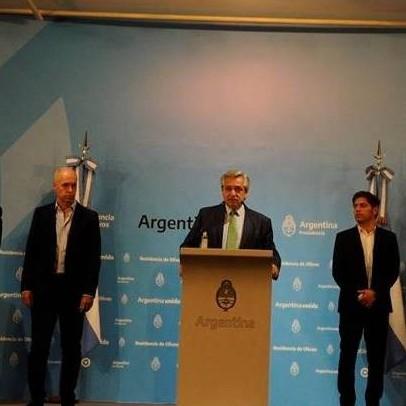 Diario Frontera, Frontera Digital,  ARGENTINA, Internacionales, ,Coronavirus en Argentina: Alberto Fernández declaró la  cuarentena total desde esta medianoche y hasta el 31 de marzo