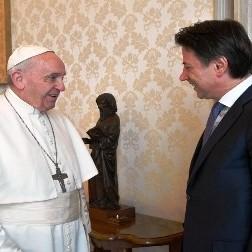 Diario Frontera, Frontera Digital,  PAPA FRANCISCO, Internacionales, ,El Papa recibió en el Vaticano al  primer ministro italiano Giuseppe Conte