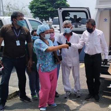 Diario Frontera, Frontera Digital,  TUCANÍ, Panamericana, ,Gobierno regional entregó ambulancia  e insumos médicos  a hospital de Tucaní