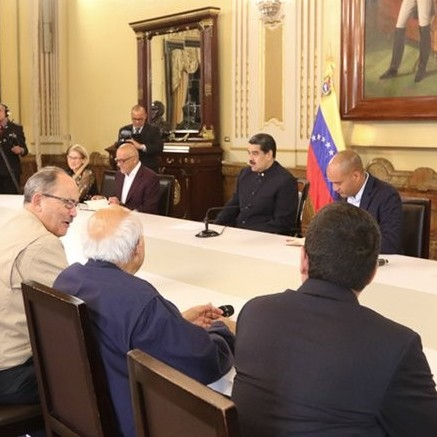 Diario Frontera, Frontera Digital,  NICOLÁS MADURO, Politica, ,Nicolás Maduro recibe a representantes de la  Mesa de Diálogo para fortalecer acuerdos