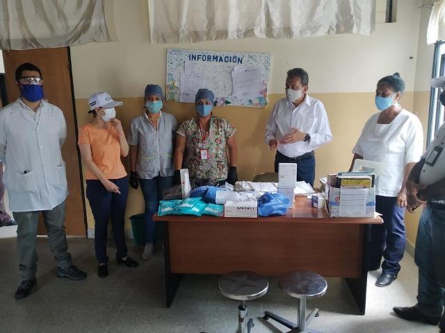 Diario Frontera, Frontera Digital,  RED AMBULATORIA, CORPOSALUD, Panamericana, ,Ejecutivo regional entregó insumos médicos  a ambulatorios del eje Panamericano