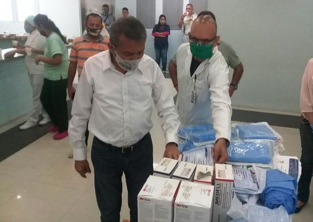 Diario Frontera, Frontera Digital,  RAMÓN GUEVARA, Panamericana, ,HOSPITALES EL VIGÍA  RECIBIERON 600 MILLONES DE BOLÍVARES  EN INSUMOS MÉDICOS Y RECURSOS PARA PAGOS PENDIENTES