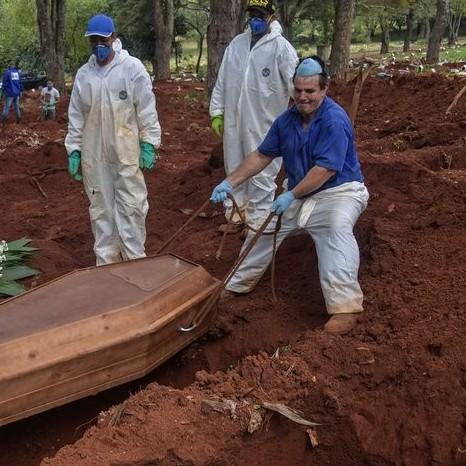 Diario Frontera, Frontera Digital,  BRASIL, Internacionales, ,Brasil: São Paulo prevé 111.000 muertes  en seis meses por COVID-19