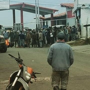 Diario Frontera, Frontera Digital,  MUCUCHÍES, PROTESTA EN RANGEL, COMBUSTIBLE, Páramo, ,Grupos violentos afectaron cuarentena social en Mucuchíes