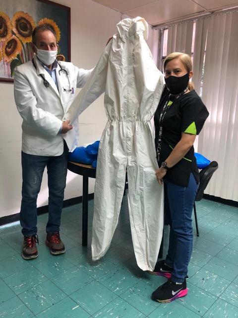 Diario Frontera, Frontera Digital,  VENTE MÉRIDA, Salud, ,Merideños se organizan y entregan trajes de bioseguridad al IAHULA.