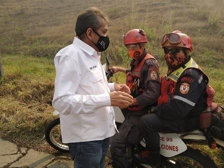 Diario Frontera, Frontera Digital,  GOBIERNO DE MÉRIDA, Mocoties, ,Urge la activación del comando unificado  contra incendios forestales en Bailadores