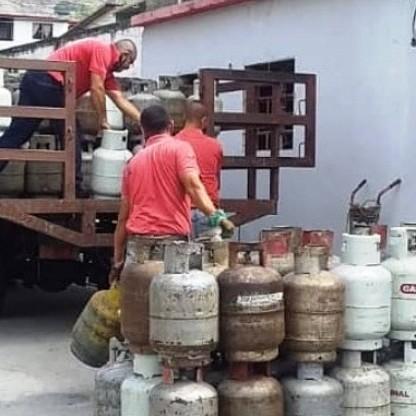 Diario Frontera, Frontera Digital,  NEVADO GAS, Páramo, ,Más de 500 cilindros distribuyó la  empresa merideña Nevado Gas en Tabay