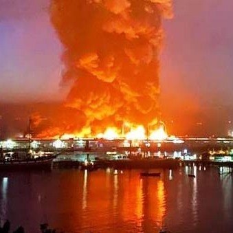 Diario Frontera, Frontera Digital,  MUELLE DE SAN FRANCISCO, Internacionales, ,Incendio destruye parte del histórico  muelle de pescadores de San Francisco