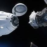 Frontera Digital,  SPACE X, Tecnología,  Cápsula de SpaceX llega a la EEI tras 19 horas de vuelo