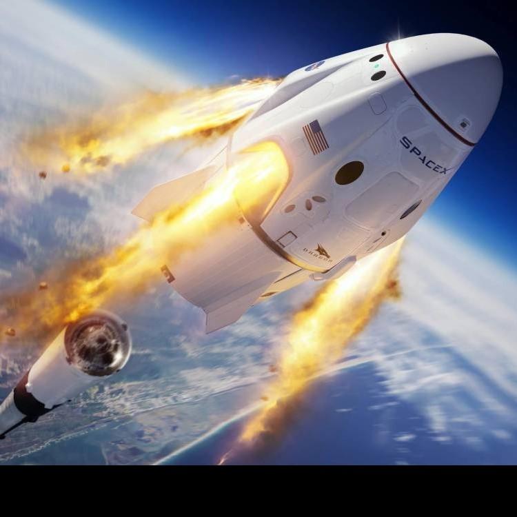 Frontera Digital,  SPACE X, Tecnología,  SpaceX despegó con éxito en su segundo intento