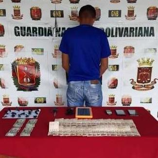 Frontera Digital,  GNB, Sucesos,  Comando Rural de la GNB captura  micro traficante de marihuana en Santa Elena de Arenales