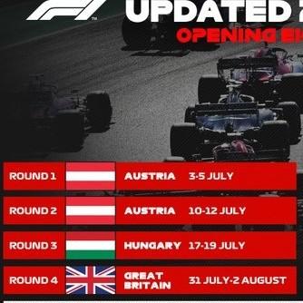 Diario Frontera, Frontera Digital,  FÓRMULA1, Deportes, ,La Fórmula 1 anuncia  las ocho primeras carreras de la temporada