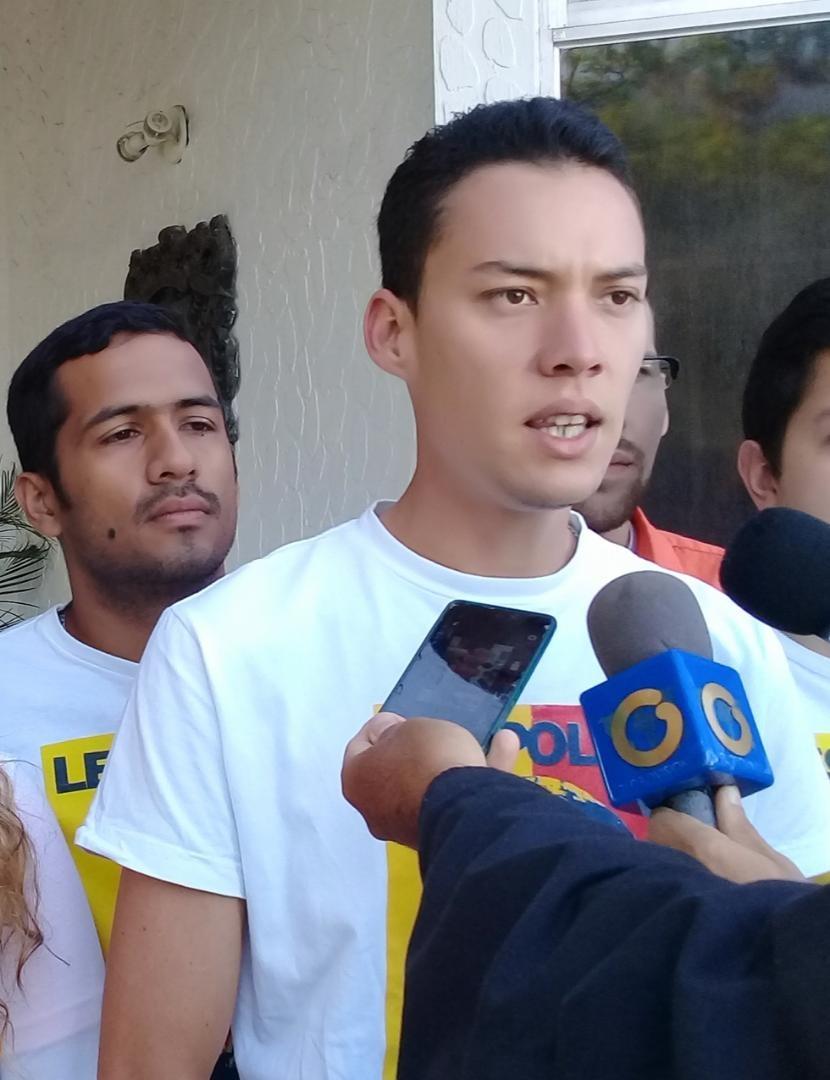 """Diario Frontera, Frontera Digital,  VOLUNTAD POPULAR, Politica, ,Lisandro Cumana- VP Mérida: """"Los Jóvenes no reconocemos  ninguna autoridad usurpada, ya que es ineficaz y sus actos son nulos"""""""
