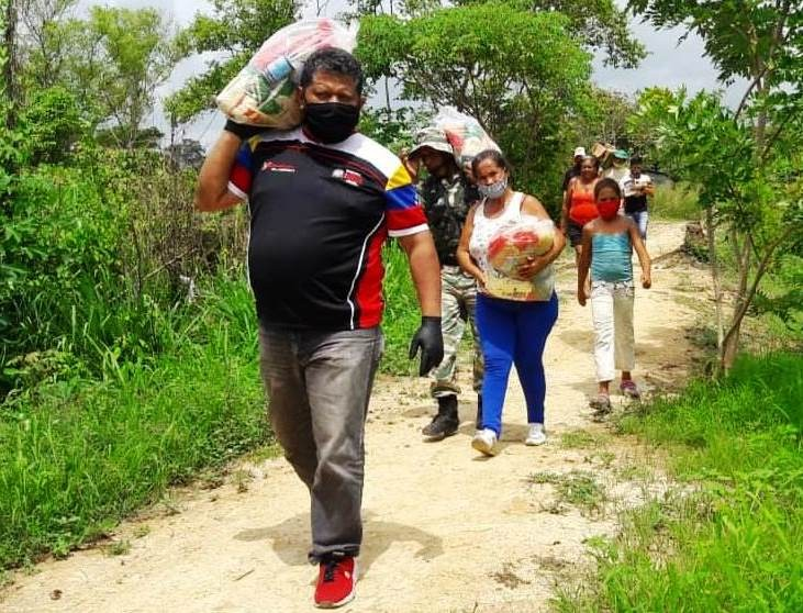Diario Frontera, Frontera Digital,  BOLIVIGÍA, Panamericana, ,CLAP LAS OCIVIH DE EL VIGÍA  RECIBIERON 911 BOLSAS DE ALIMENTOS