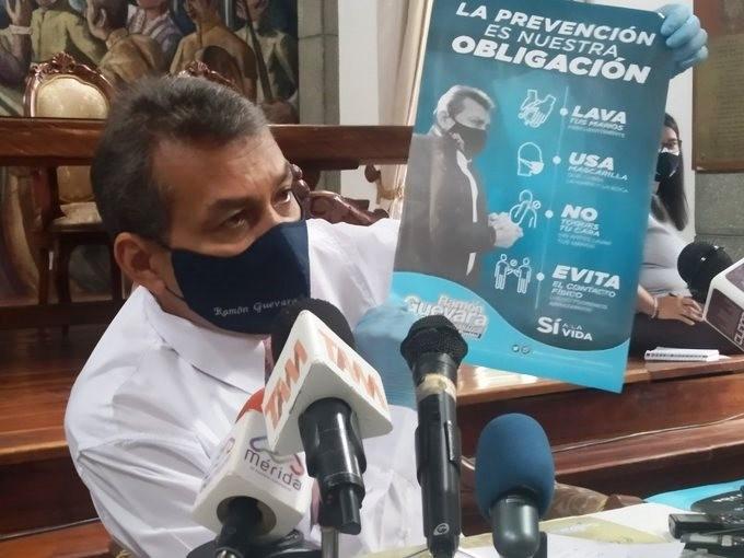 Diario Frontera, Frontera Digital,  GOBIERNO DE MÉRIDA, RAMÓN GUEVARA, Salud, ,Prevenir el contagio por COVID-19  es responsabilidad de todos los merideños