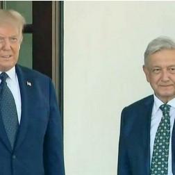 """Diario Frontera, Frontera Digital,  D. TRUMP, Internacionales, ,Trump recibe en la Casa Blanca a su  """"amigo"""" López Obrador en medio de críticas"""