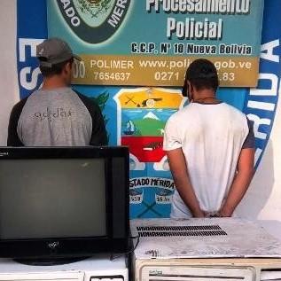 Diario Frontera, Frontera Digital,  tucaní, Sucesos, ,DOS CIUDADANOS DETENIDOS POR HURTO A UNIDAD EDUCATIVA EN TUCANI