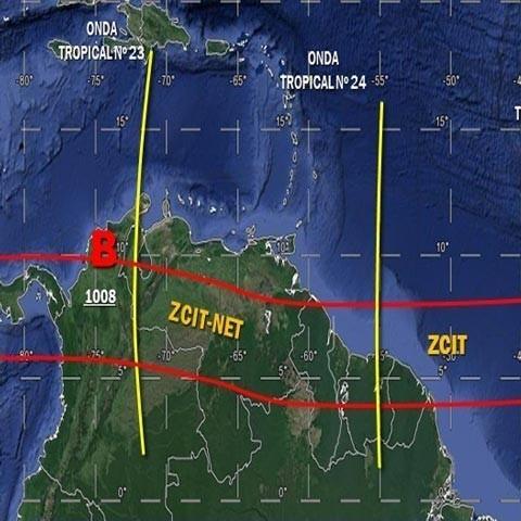 Diario Frontera, Frontera Digital,  onda tropical 23, Nacionales, ,Onda tropical N° 23 se desplaza sobre el occidente del país