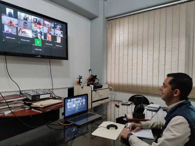 Diario Frontera, Frontera Digital,  JESÚS ARAQUE, Opinión, ,Jesús Araque participó en reunión virtual del Estado Mayor Parlamentario