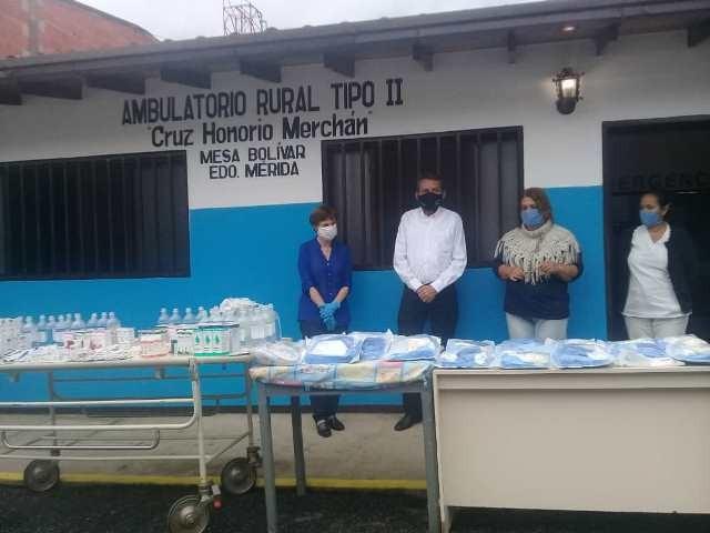Diario Frontera, Frontera Digital,  MESA BOLÍVAR, PINTO SALINAS, Mocoties, ,Ambulatorio rural Tipo II de Mesa Bolívar  recibió dotación por parte del Ejecutivo Regional