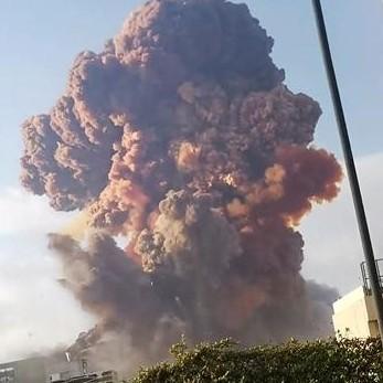 Diario Frontera, Frontera Digital,  BEITURT, LIBANO, Internacionales, ,Al menos diez muertos tras la gran explosión en el puerto de Beirut