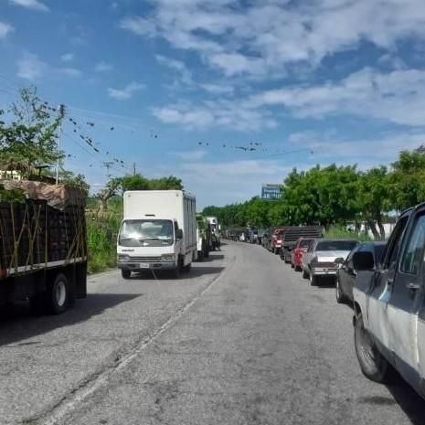 Diario Frontera, Frontera Digital,  ARAPUEY, MUNICIPIO JULIO CÉSAR SALAS, Panamericana, ,Habitantes de Arapuey trancaron la vía Panamericana  para exigir la venta de gasolina