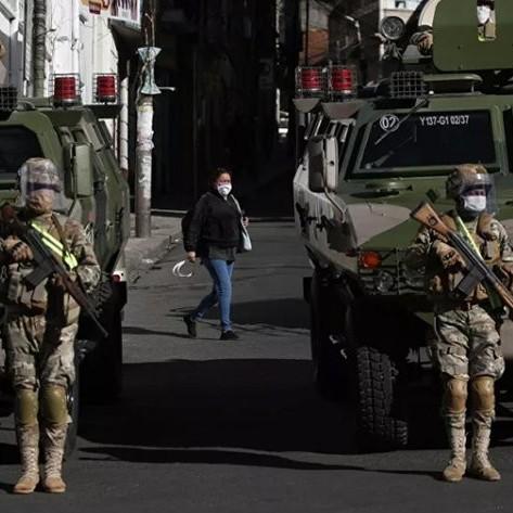 Diario Frontera, Frontera Digital,  BOLIVIA, MILITARIZADA, Internacionales, ,Gobierno de Bolivia militariza ciudades  para encarar sectores que demandan elecciones