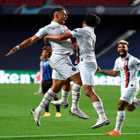 Diario Frontera, Frontera Digital,  PSG, Deportes, ,El PSG remontó al Atalanta y avanzó a semifinales