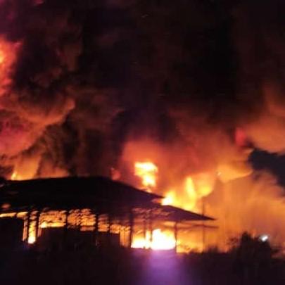 Diario Frontera, Frontera Digital,  INCENDIO, Nacionales, ,Se registra incendio en depósito de Goodyear en Carabobo