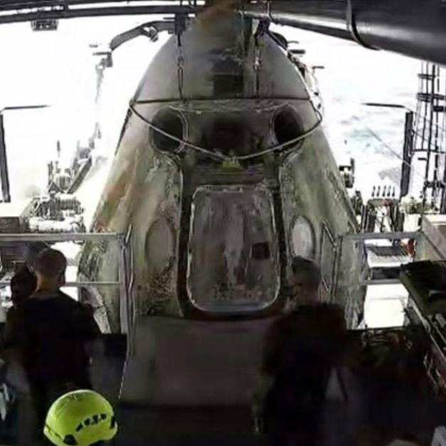 Diario Frontera, Frontera Digital,  SPACE X, NASA, Internacionales, ,SpaceX trae de regreso a casa a astronautas  de la NASA en una histórica misión
