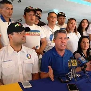 Diario Frontera, Frontera Digital,  AVANZADA PROGRESISTA, Politica, ,*Francisco Castrillo (AP Mérida): Nuestro pueblo  sigue apostando por una solución pacífica al conflicto venezolano