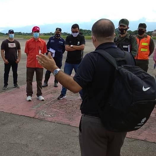 Diario Frontera, Frontera Digital,  LOG+ÍOSTICA, AEROPUERTO JUAN PABLO PÉREZ ALFONSO, Deportes, ,En Mérida fortalecen protocolos de seguridad y bioseguridad para recibir a Alianza Lima