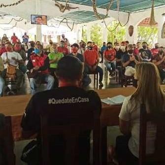 Diario Frontera, Frontera Digital,  MUNICIPIO Tulio Febres Cordero, Panamericana, ,Juramentado Comando de Campaña Darío Vivas  por el circuito 2 en el estado Mérida