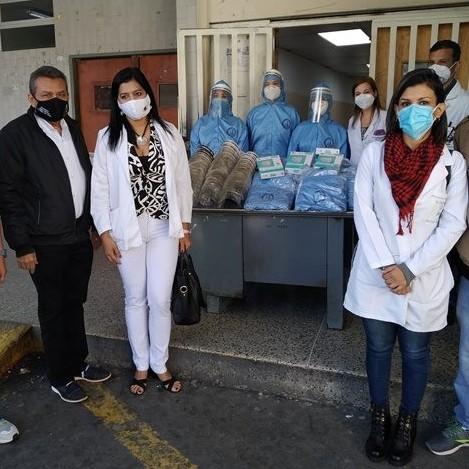 Diario Frontera, Frontera Digital,  PLAN SALUD, GOBIERNO DE MÉRIDA, Salud, ,Médicos de ginecoobstetricia del Iahula recibieron  equipos de protección personal para combatir la pandemia