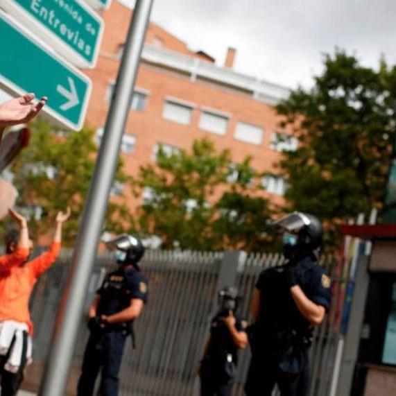 Diario Frontera, Frontera Digital,  MADRID, COVID-19, Internacionales, ,Envuelta en la polémica, Madrid restringe la movilidad este lunes  en 37 zonas para frenar la COVID-19